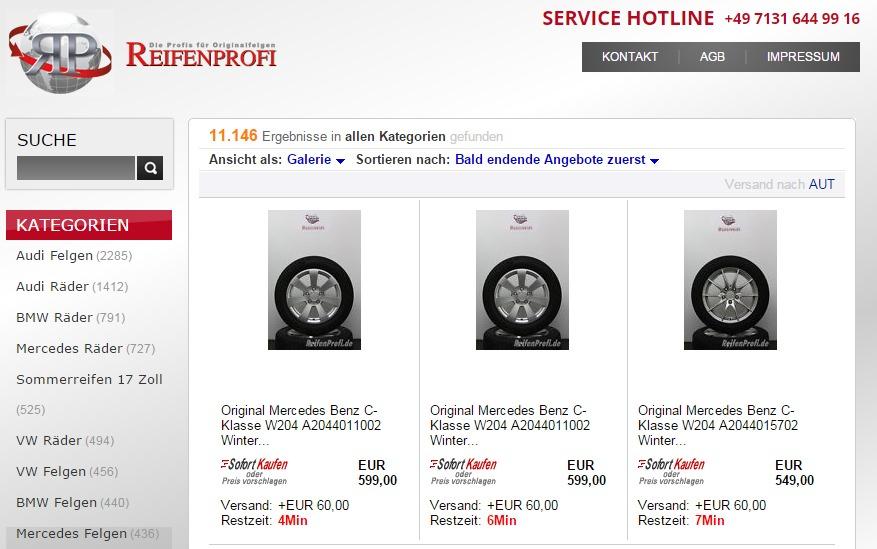 Felgen und Reifen Im Felgenshop online kaufen – die günstige Alternative zum Reifenhändler