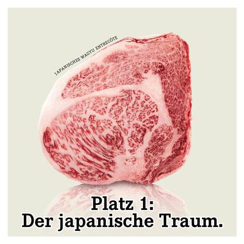Jenseits von Waygu oder Kobe Fleisch in der Urzeit