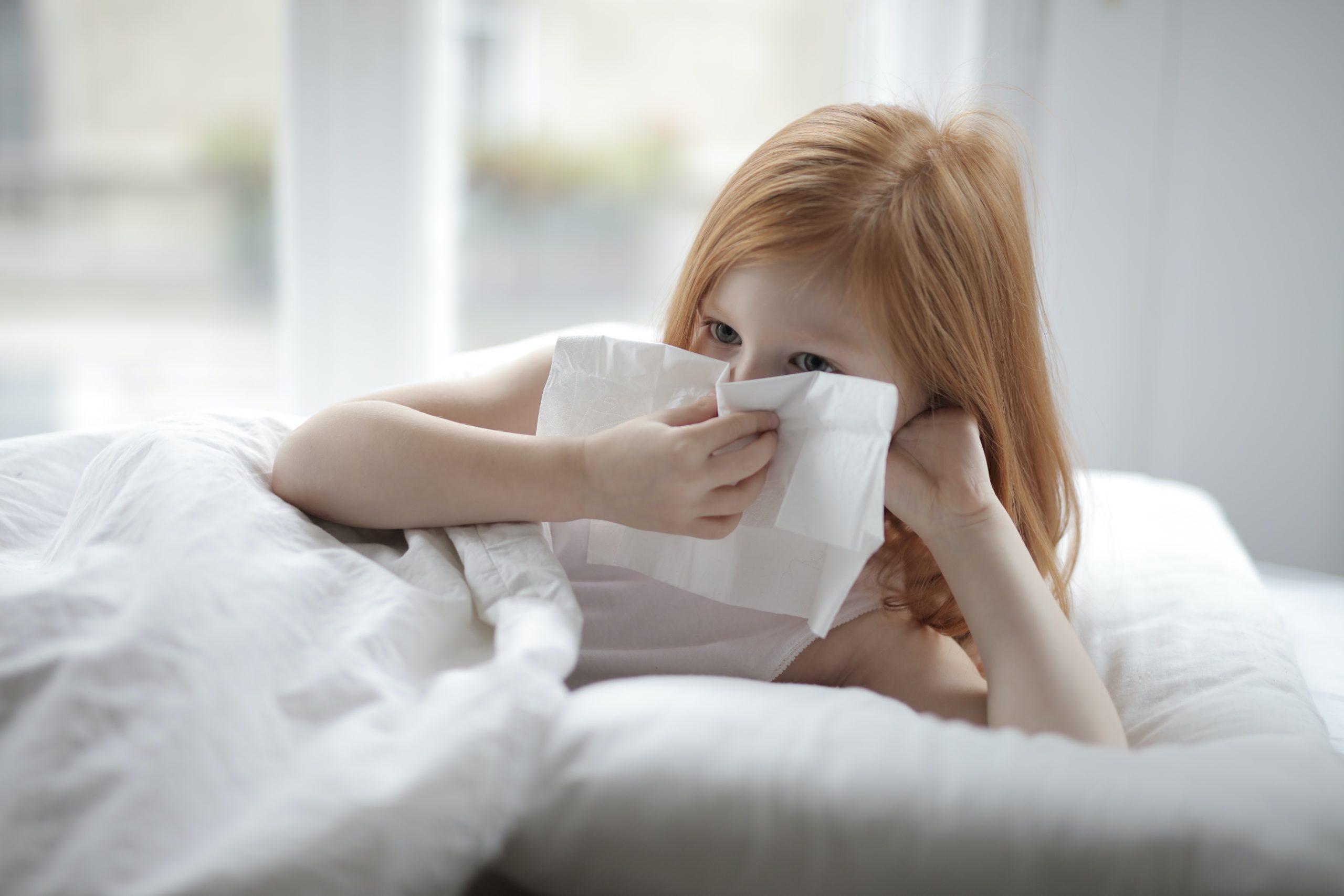 Ungeeignete Bettwäsche führt zu allergische Reaktionen
